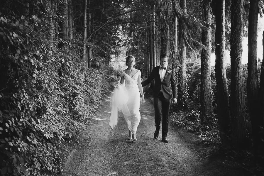 wedding photography dublin woods